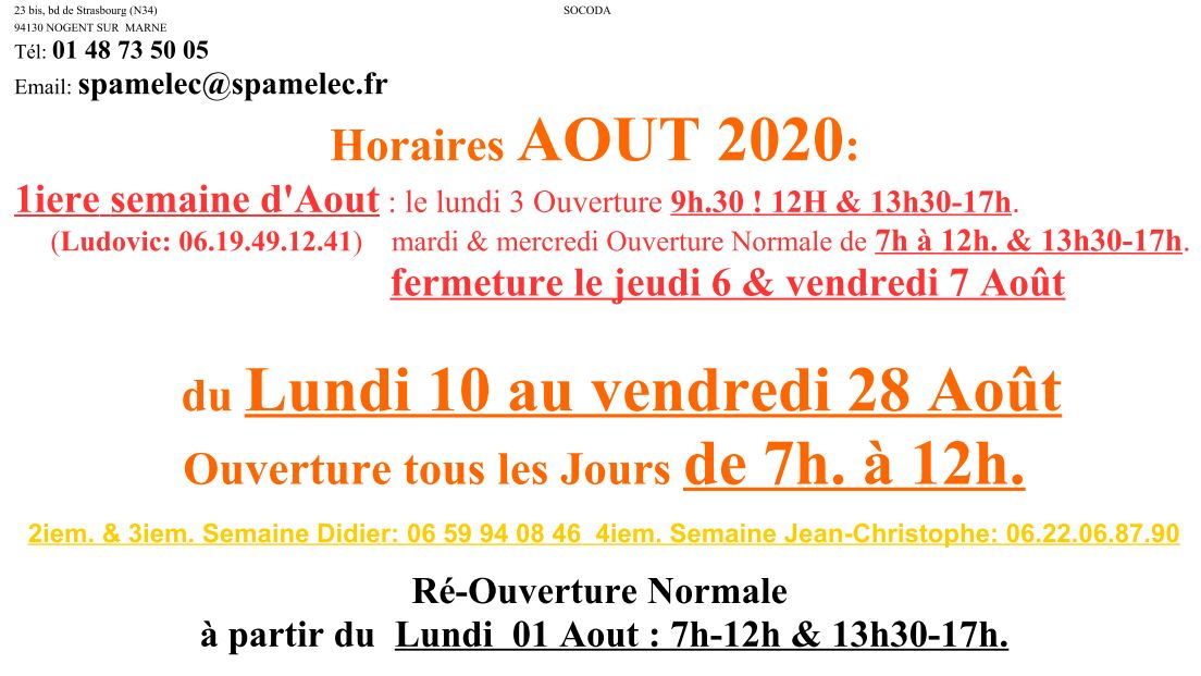 2020-08_Horaires_Aout